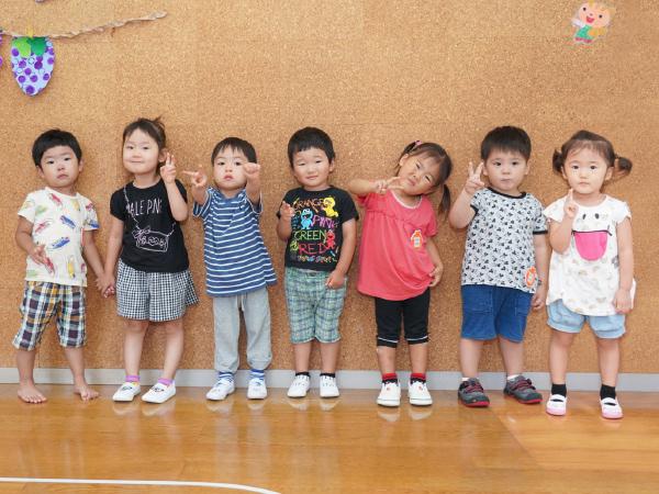 就園前の2歳時を対象とした幼児教室